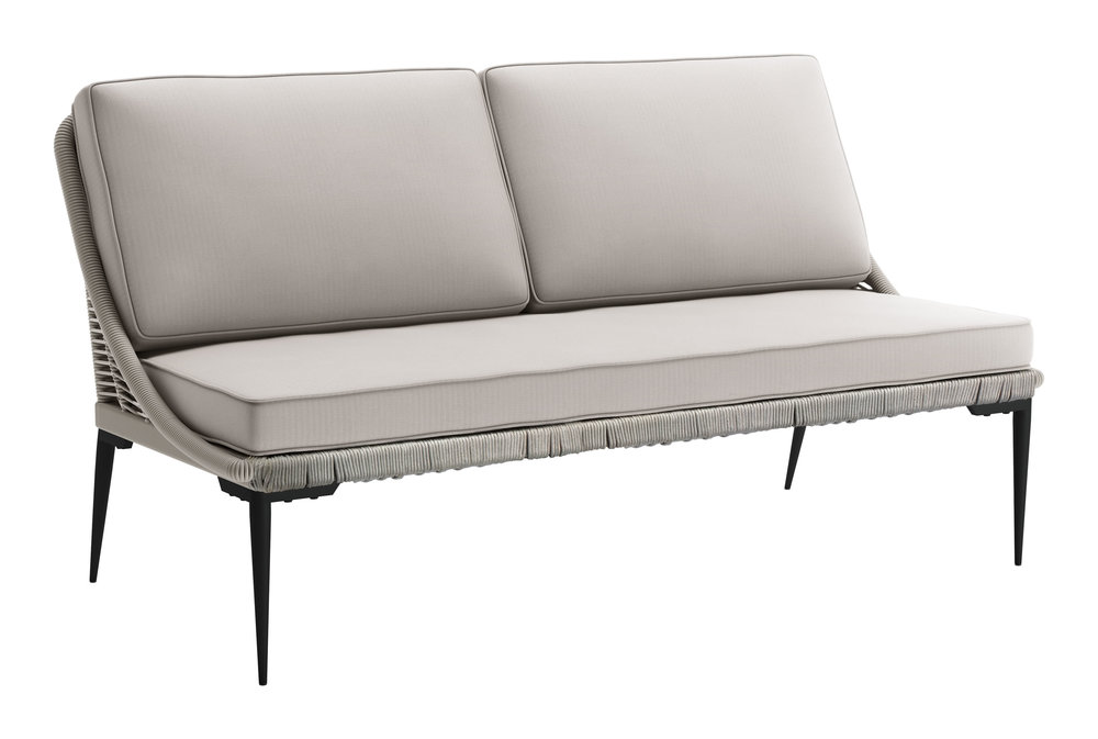 Zuo Modern Contemporary - Tahiti Sofa Black & Gray
