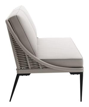 Thumbnail of Zuo Modern Contemporary - Tahiti Sofa Black & Gray