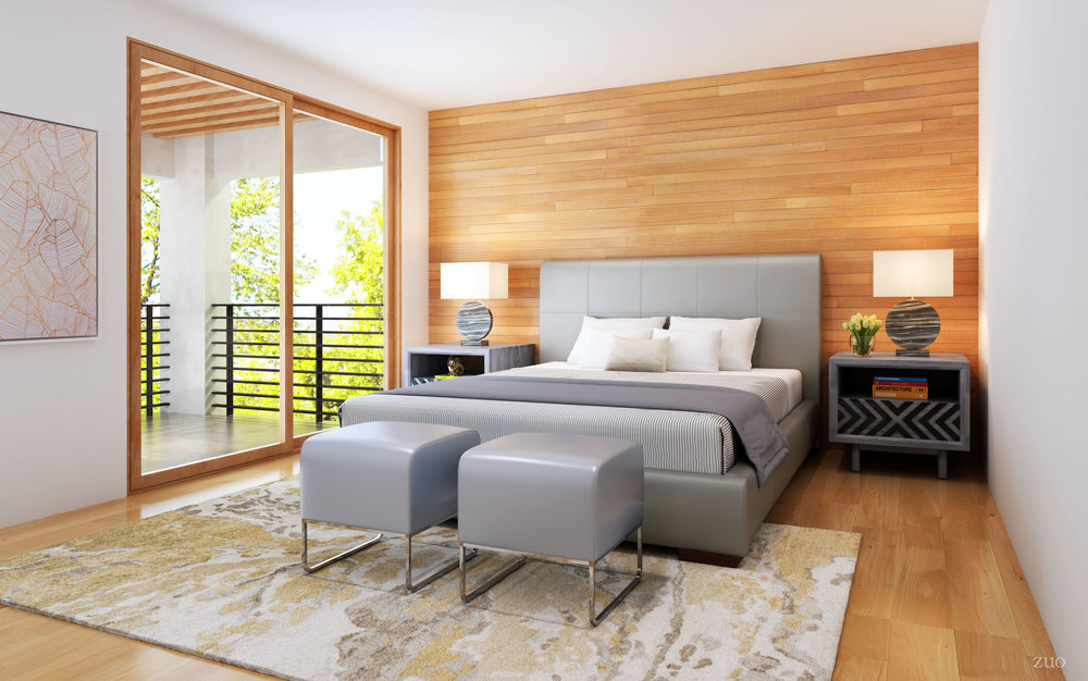 Zuo Modern Contemporary - Amelie Queen Bed Gray