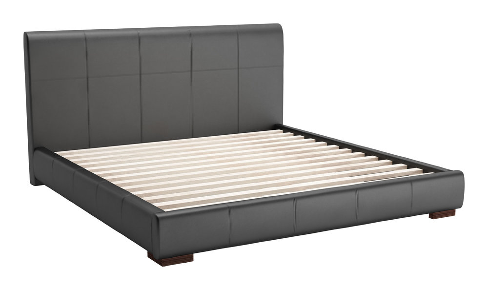 Zuo Modern Contemporary - Amelie King Bed Black