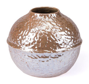 Thumbnail of Zuo Modern Contemporary - Small Textured Vase Pearl Yellow