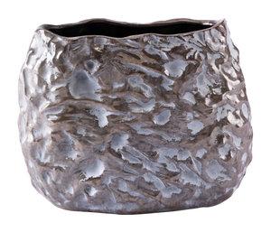 Thumbnail of Zuo Modern Contemporary - Medium Stones Vase Metallic Brown & White