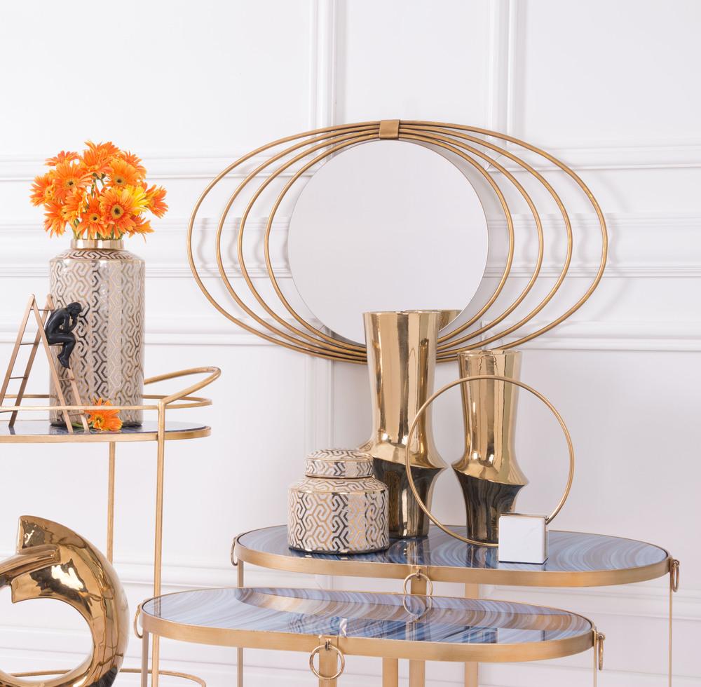 Zuo Modern Contemporary - Medium Vual Vase Gold
