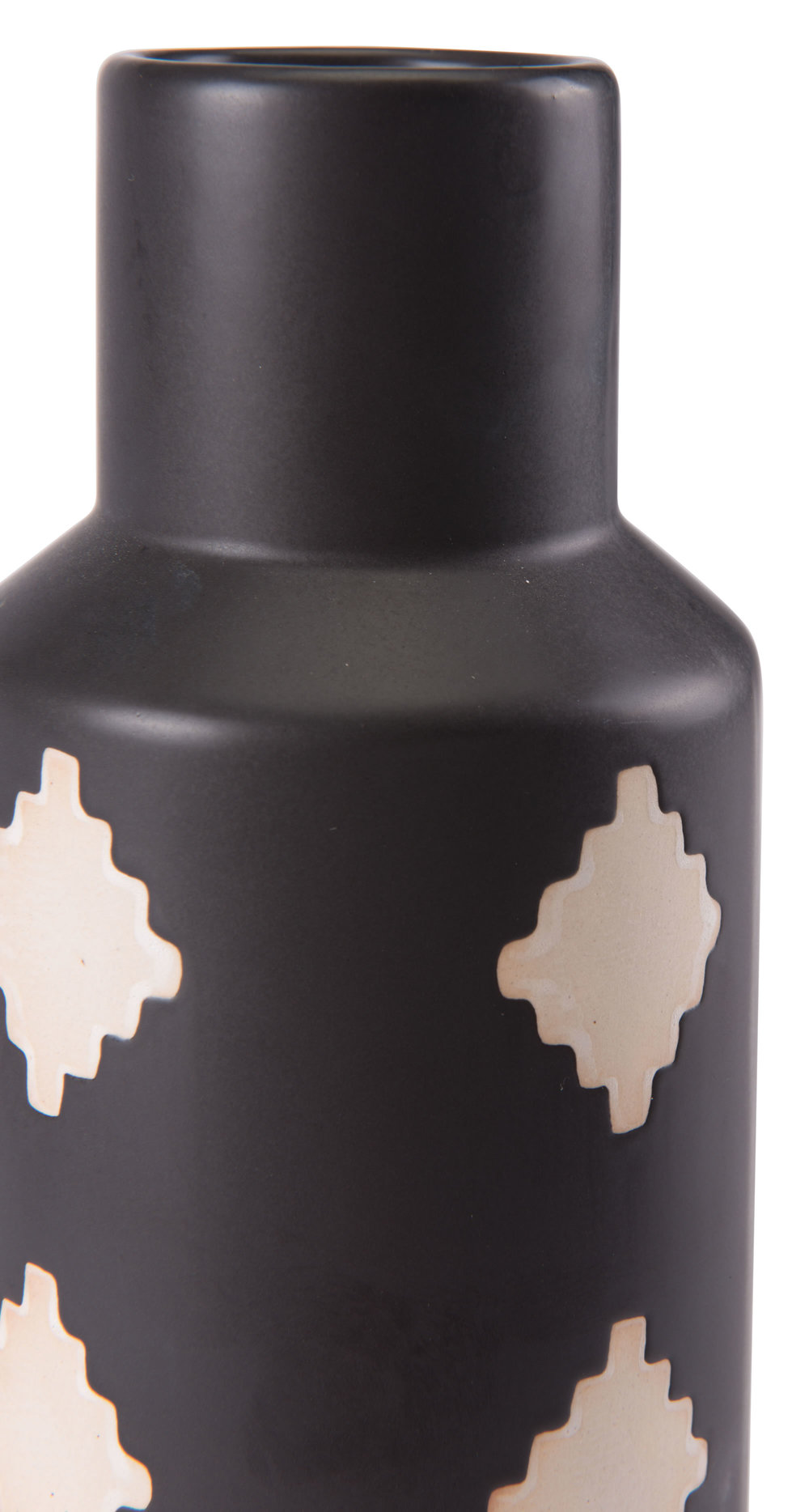 Zuo Modern Contemporary - Large Pampa Bottle Black & Beige