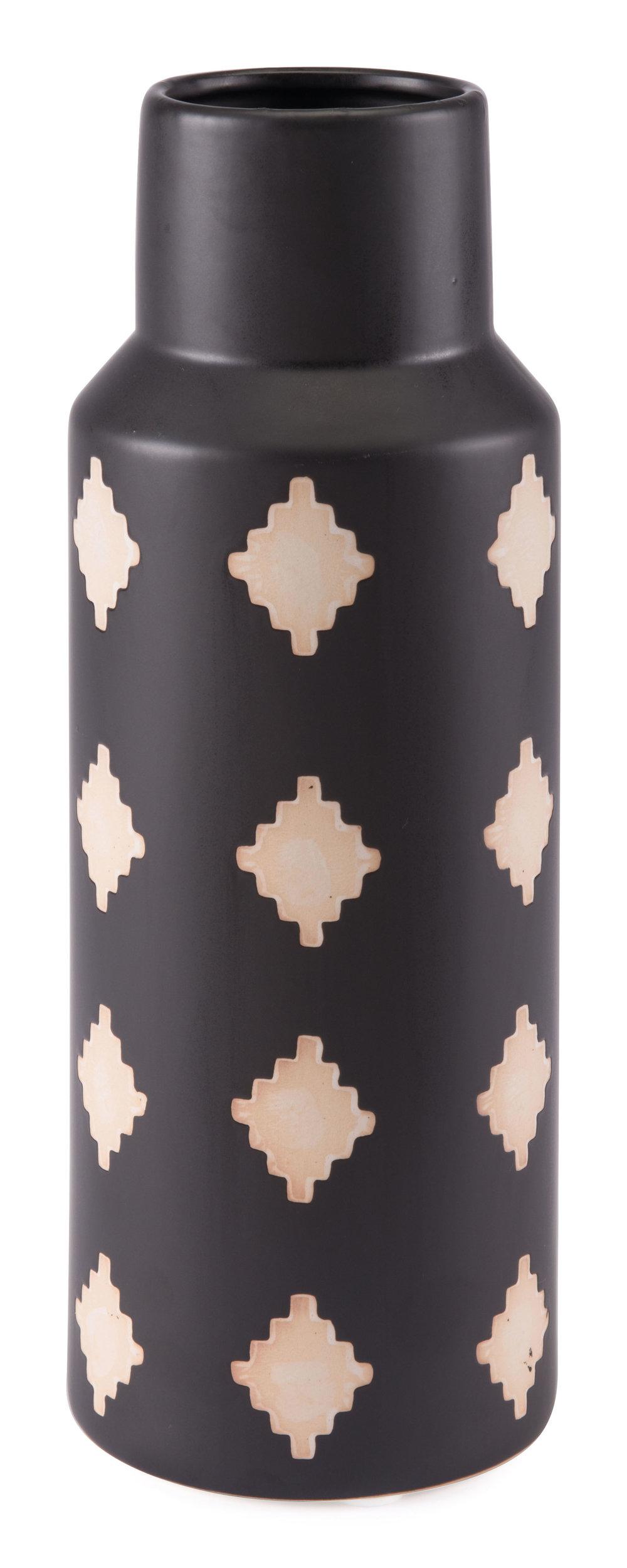 Zuo Modern Contemporary - Medium Pampa Bottle Black & Beige