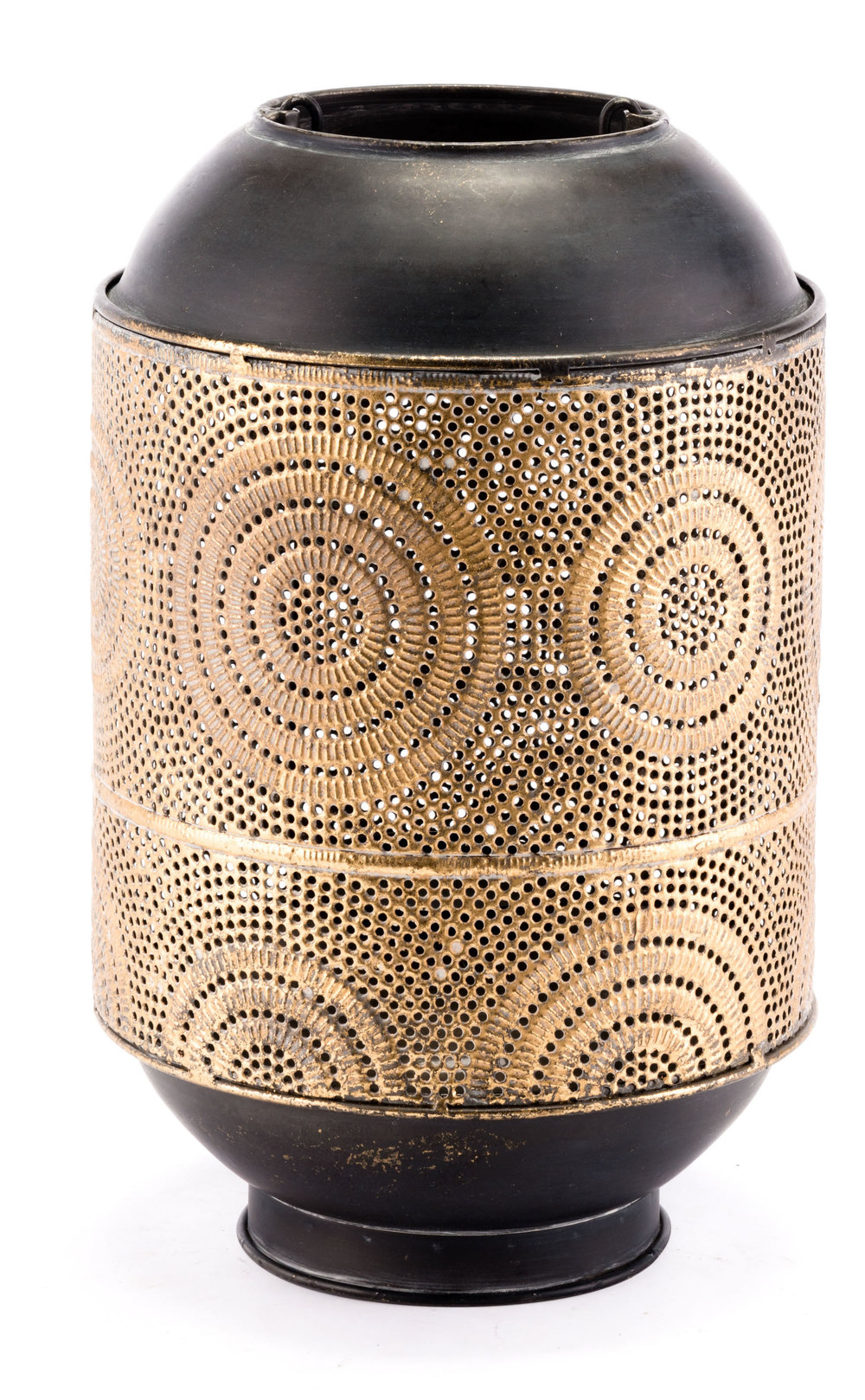 Zuo Modern Contemporary - Small Espiral Candle Holder Antique Gold