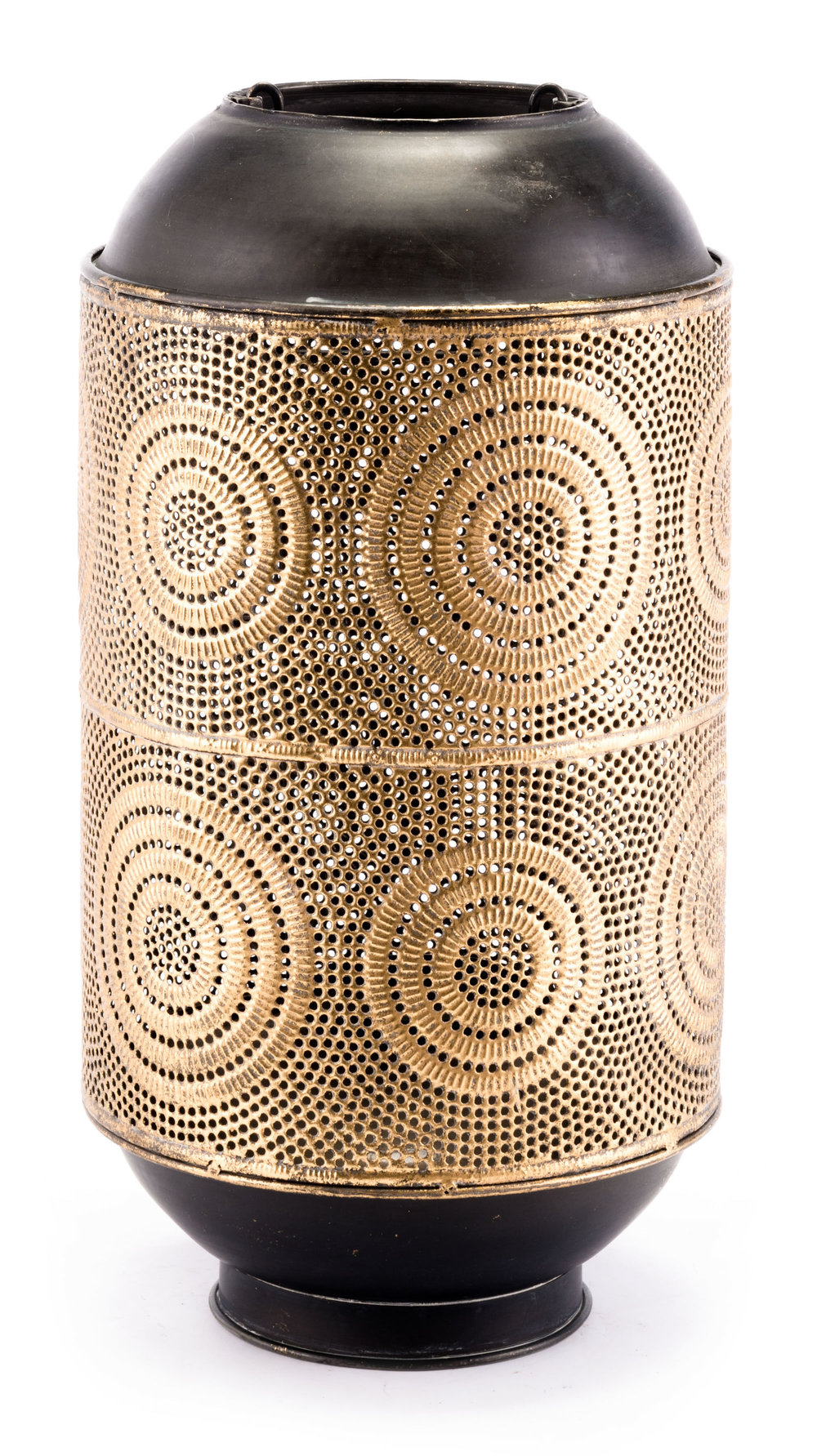Zuo Modern Contemporary - Large Espiral Candle Holder Antique Gold