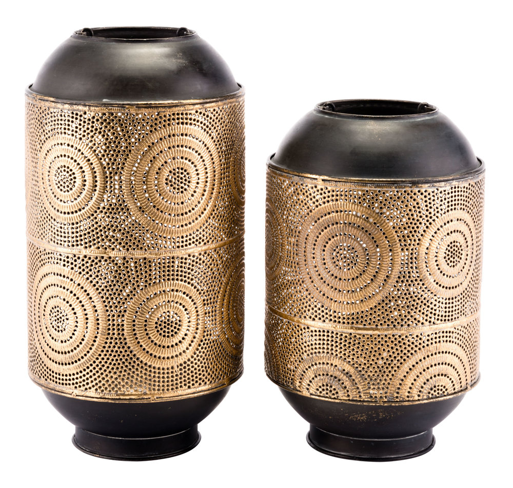 ZUO MODERN CONTEMPORARY, INC - Large Espiral Candle Holder Antique Gold