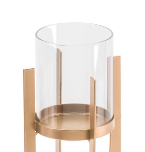 Thumbnail of Zuo Modern Contemporary - Small Equis Gold Candle Holder Gold