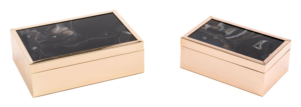 ZUO MODERN CONTEMPORARY, INC - Small Stone Box Black