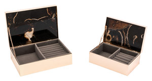 Thumbnail of ZUO MODERN CONTEMPORARY, INC - Small Stone Box Black