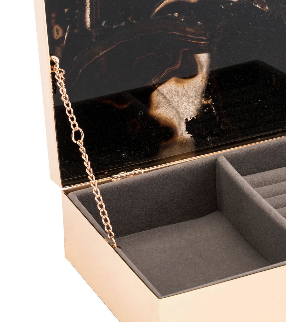 Zuo Modern Contemporary - Large Stone Box Black