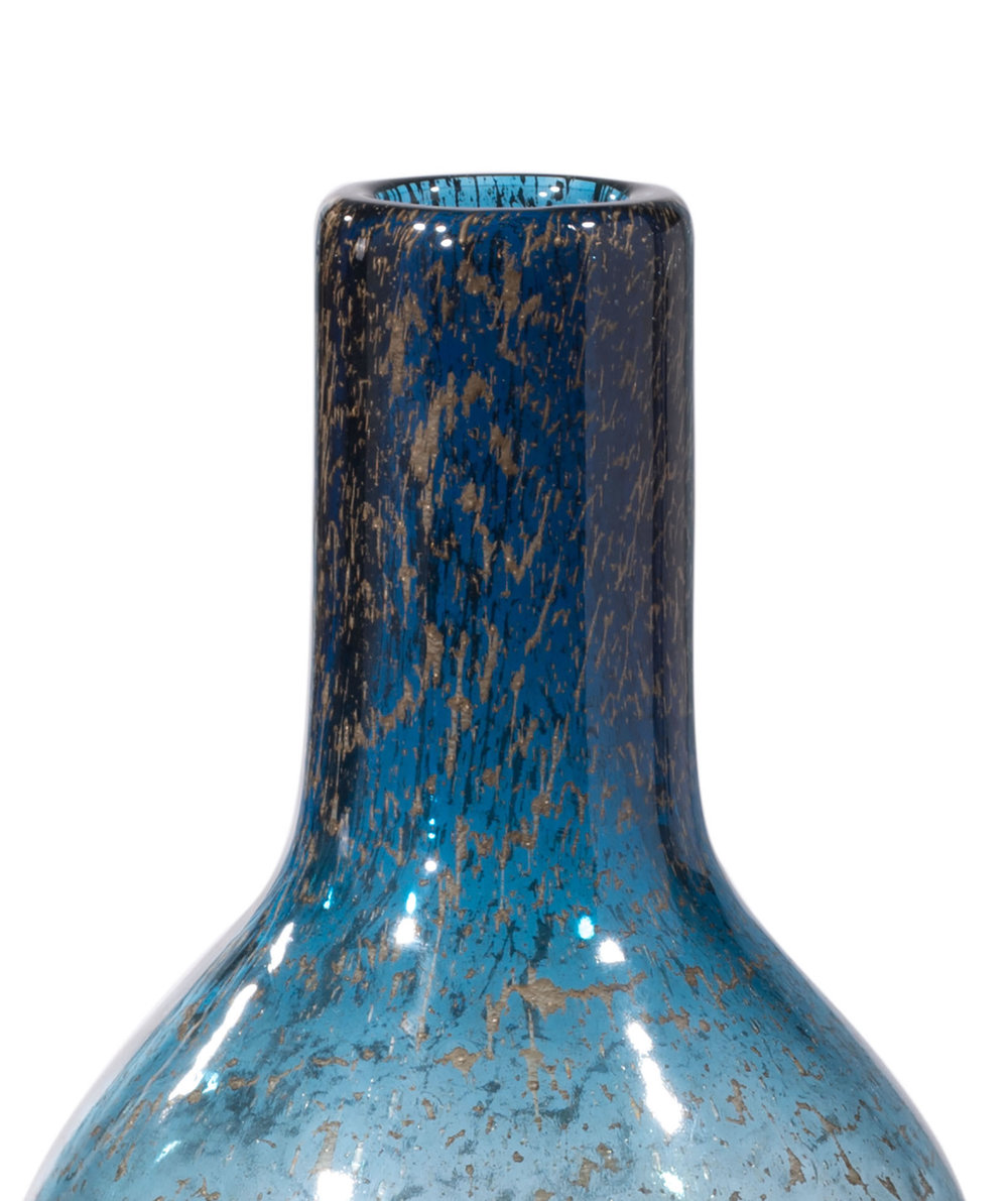 ZUO MODERN CONTEMPORARY, INC - Small Ice Bottle Blue