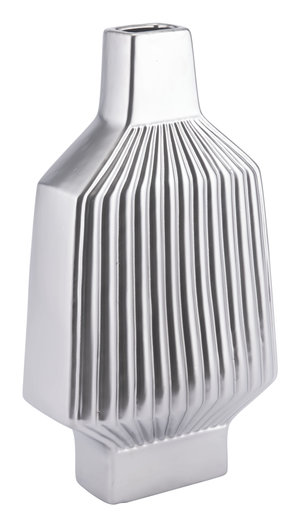 Thumbnail of Zuo Modern Contemporary - Large Tower Vase Matte Silver