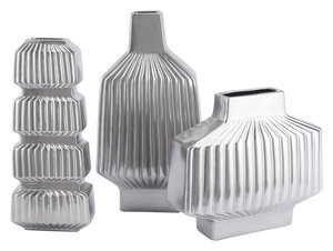 Thumbnail of ZUO MODERN CONTEMPORARY, INC - Medium Tower Vase Matte Silver