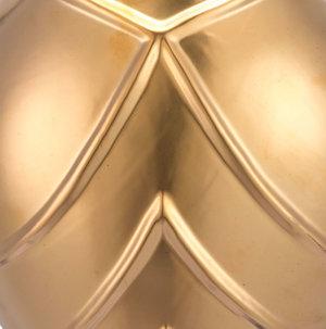 Thumbnail of Zuo Modern Contemporary - Mini Rayas Wall Vase Matte Gold