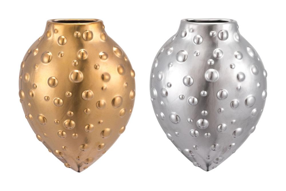 Zuo Modern Contemporary - Mini Puntos Wall Vase Matte Gold