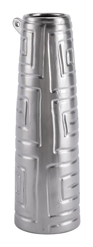 Thumbnail of ZUO MODERN CONTEMPORARY, INC - Small Azteca Jar Matte Silver