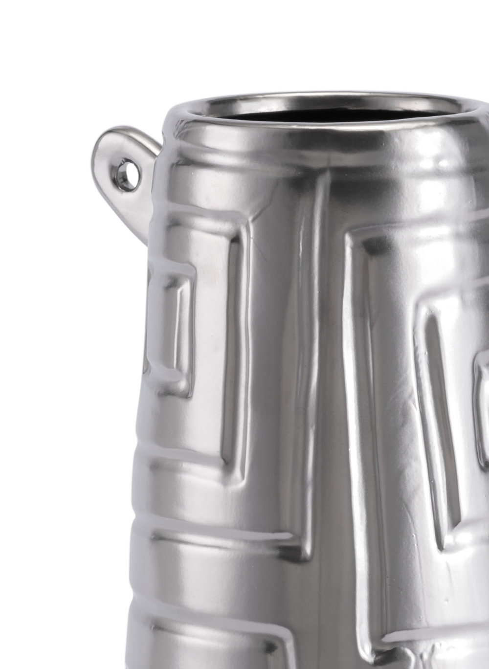 ZUO MODERN CONTEMPORARY, INC - Small Azteca Jar Matte Silver