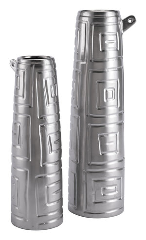 Thumbnail of Zuo Modern Contemporary - Small Azteca Jar Matte Silver