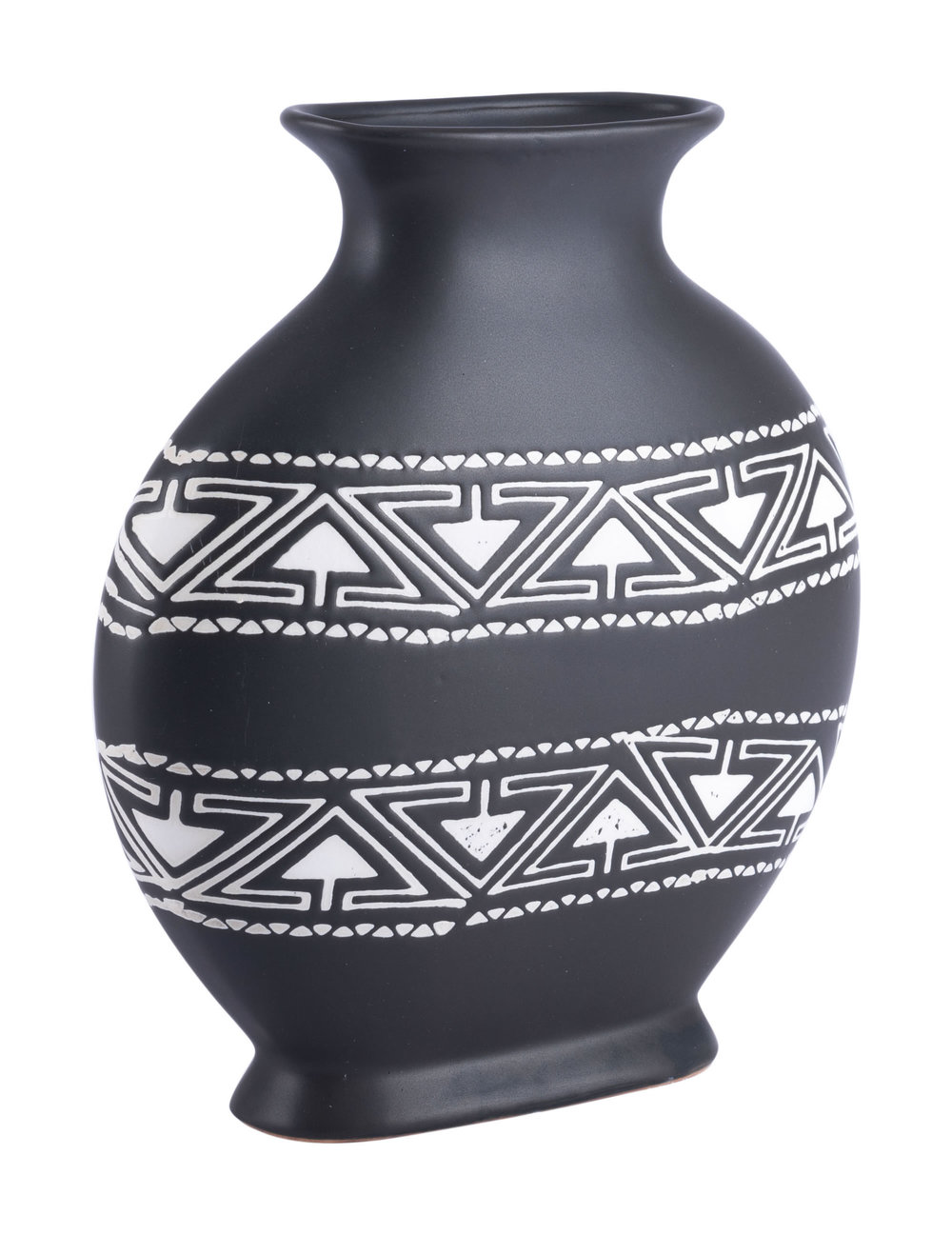 ZUO MODERN CONTEMPORARY, INC - Medium Kolla Vase Black & White