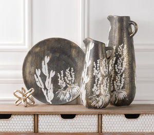 Thumbnail of Zuo Modern Contemporary - Small Jaci Jar Antique Gold & White