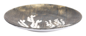 Thumbnail of Zuo Modern Contemporary - Large Jaci Plate Antique Gold & White