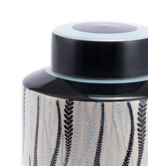 Thumbnail of ZUO MODERN CONTEMPORARY, INC - Large Espiga Jar White & Black