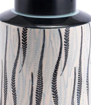 Thumbnail of Zuo Modern Contemporary - Large Espiga Jar White & Black