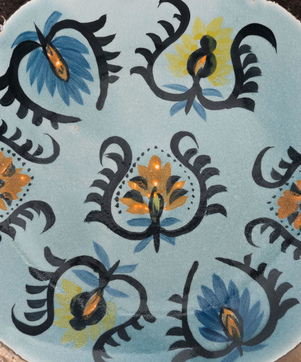 Zuo Modern Contemporary - Paisley Plate Multicolor