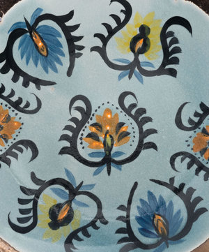 Thumbnail of Zuo Modern Contemporary - Paisley Plate Multicolor