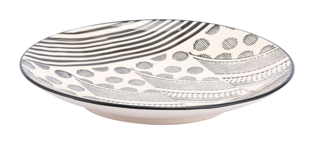 Zuo Modern Contemporary - Mix Plate Cream & Black