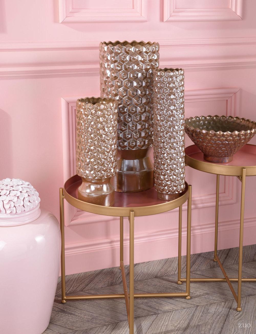 Zuo Modern Contemporary - Fabri Bowl Antique Gold