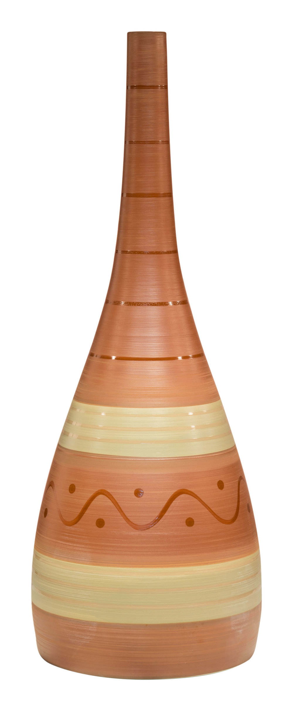 Zuo Modern Contemporary - Large Flame Bottle Brown