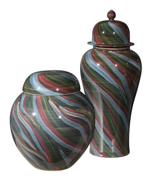 Thumbnail of ZUO MODERN CONTEMPORARY, INC - Large Galax Jar Multicolor