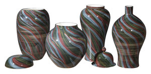 Thumbnail of Zuo Modern Contemporary - Medium Galax Jar Multicolor