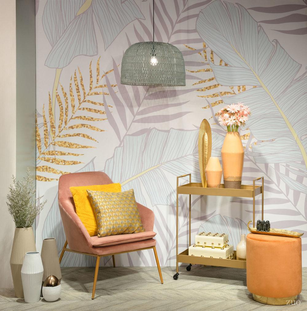 Zuo Modern Contemporary - Large Marsala Vase Light Orange