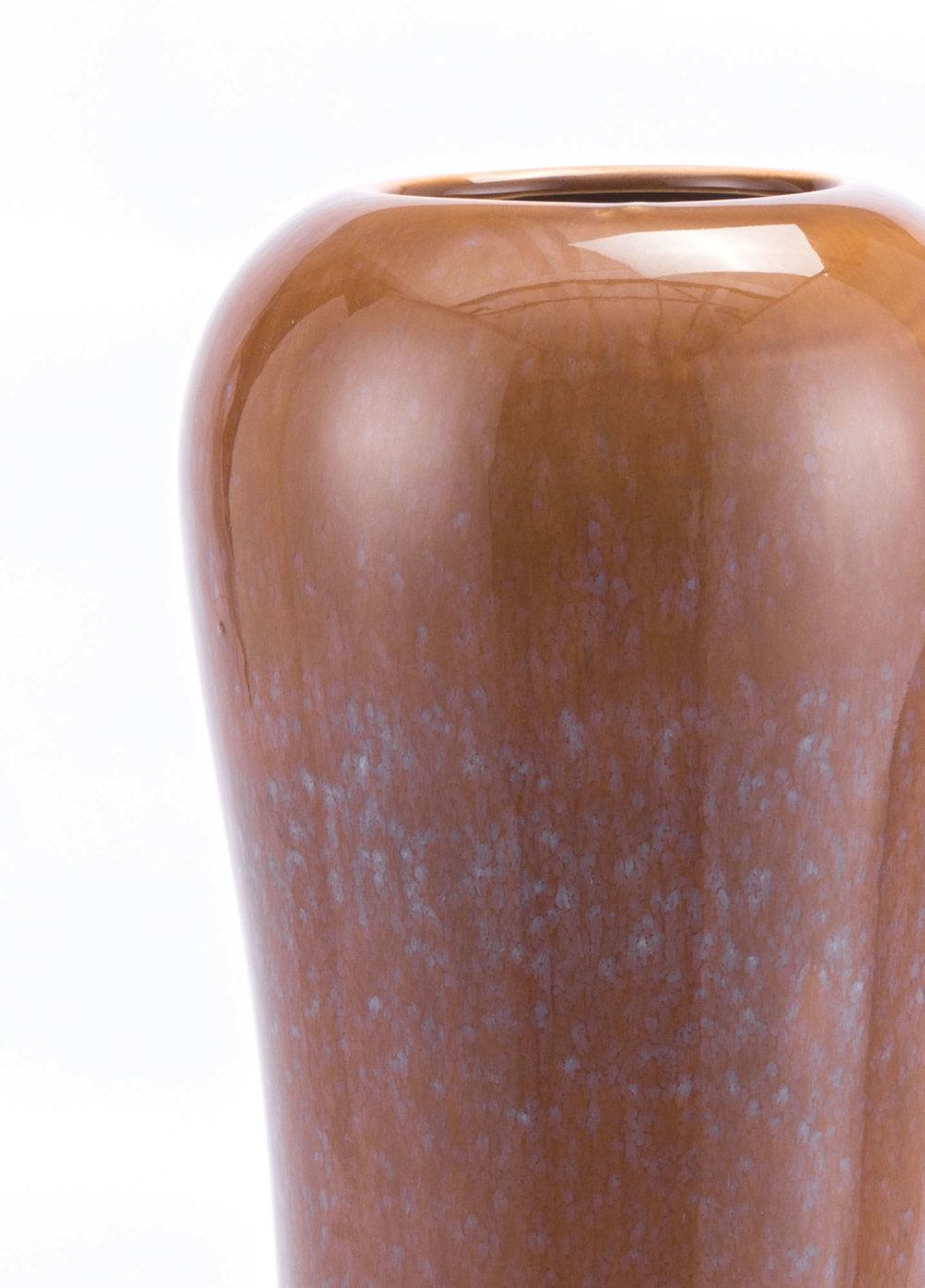 Zuo Modern Contemporary - Tall Allium Vase Brown