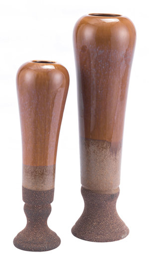 Thumbnail of Zuo Modern Contemporary - Short Allium Vase Brown