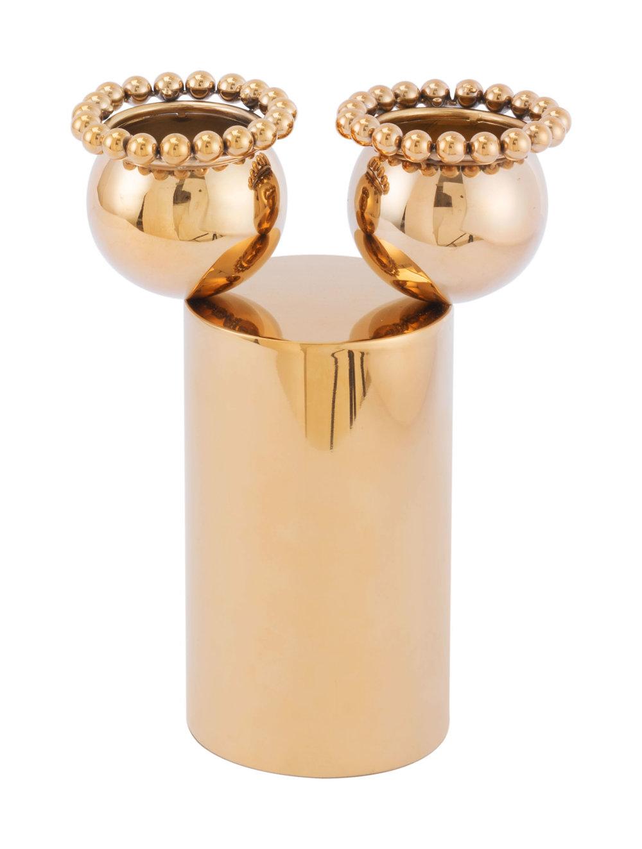 ZUO MODERN CONTEMPORARY, INC - Small Brunia Vase Gold