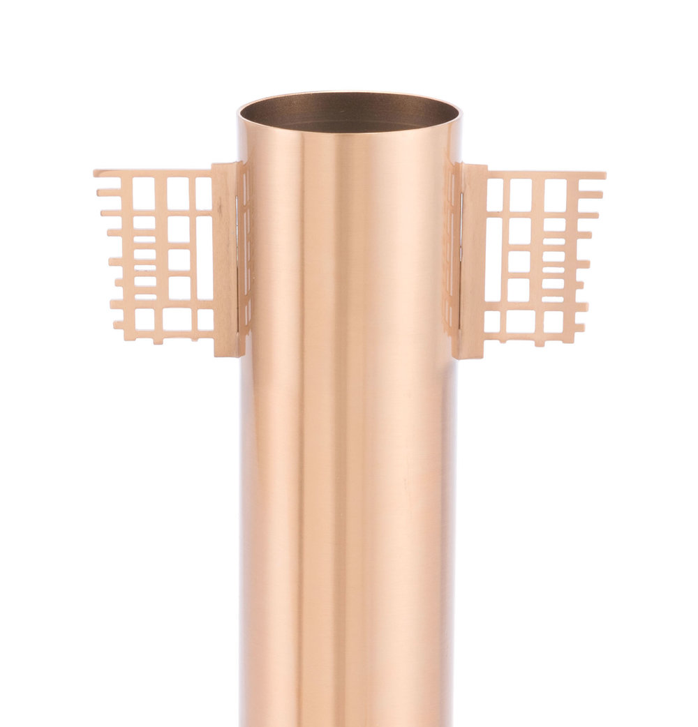 Zuo Modern Contemporary - Wind Vase Gold