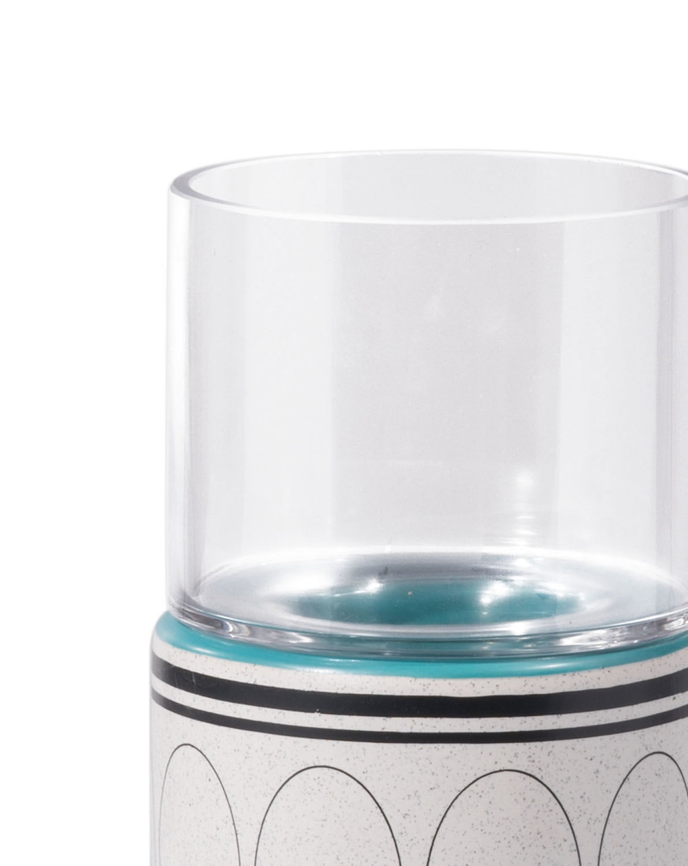 Zuo Modern Contemporary - Large Retro Candle Holder Green & Teal