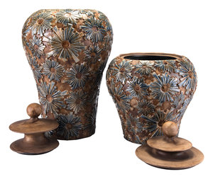 Thumbnail of ZUO MODERN CONTEMPORARY, INC - Small Cusco Temple Jar Brown