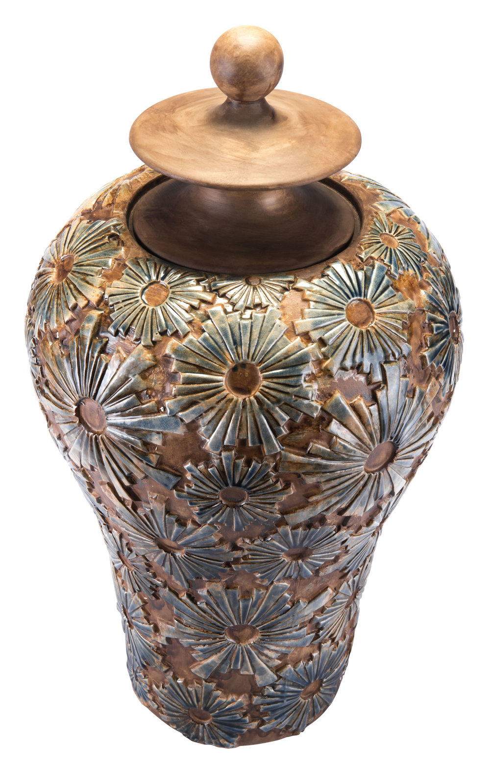 Zuo Modern Contemporary - Large Cusco Temple Jar Brown