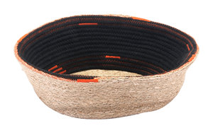 Thumbnail of Zuo Modern Contemporary - Ife Basket With Handles Black & Beige
