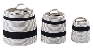 Thumbnail of Zuo Modern Contemporary - Lafia Set of 3 Baskets with Handles