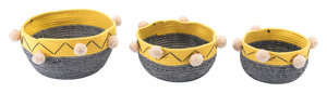 Thumbnail of ZUO MODERN CONTEMPORARY, INC - Lagos Set Of 3 Baskets Multicolor
