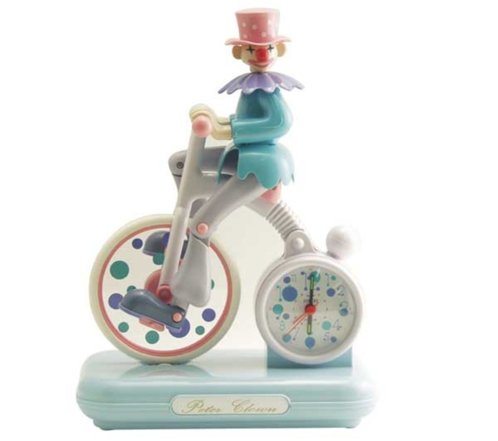 Control Brand - Moving Peter Clown Alrm Clock