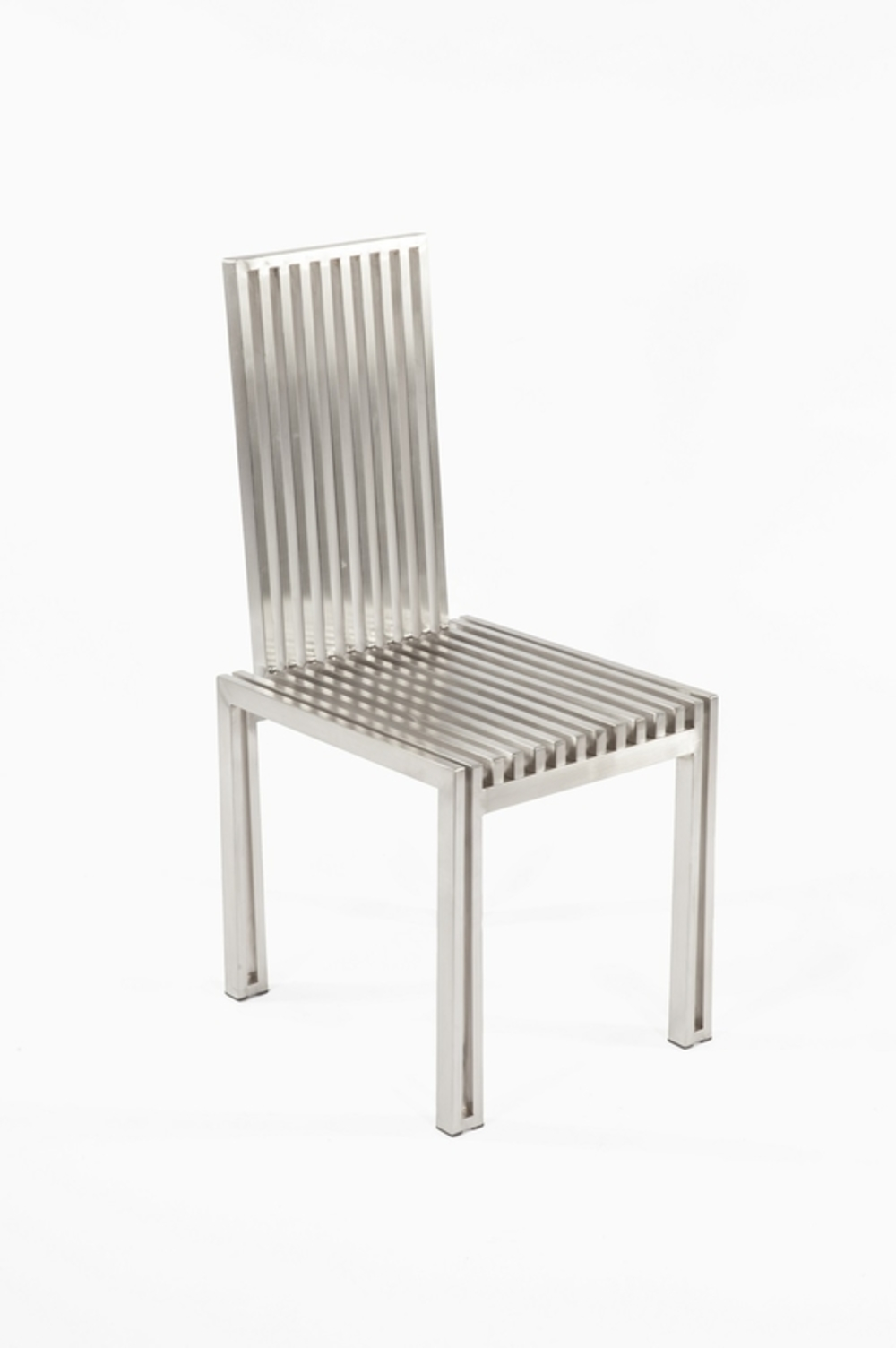 Control Brand - Brushed SS Dining Chair