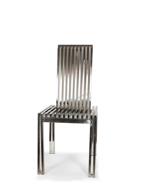 Thumbnail of Control Brand - Polished SS Dining Chair